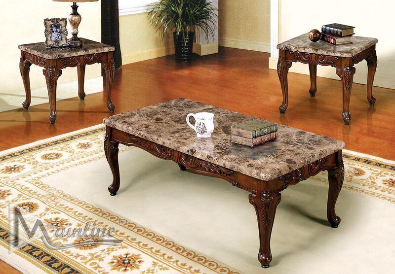 60050 cordova 3 pc coffee table coffee table marble