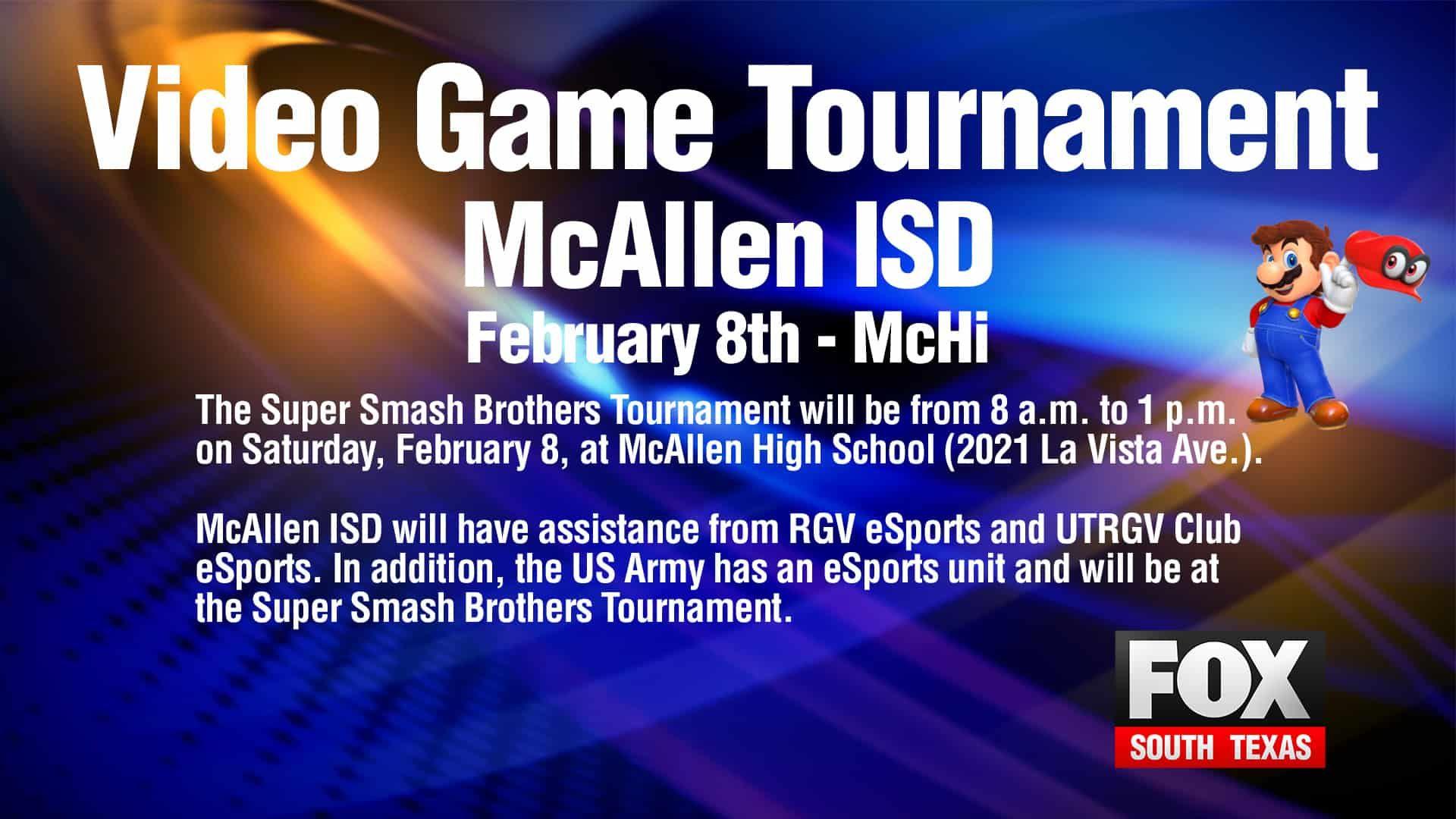 McAllen ISD Set To Host Videogame Tournament in 2020