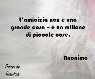 Frases De Amistad En Italiano De Anonimo Frases De Amistad