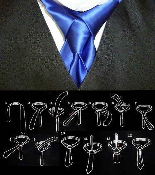 How to tie an edietymerovingian knot mens wear pinterest how to tie an edietymerovingian knot ccuart Image collections