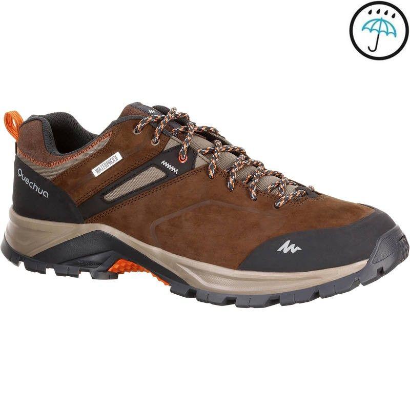 Mh500 Waterproof Men S Mountain Hiking Shoes Brown Bayan Ayakkabi Kamp Malzemeleri Bot