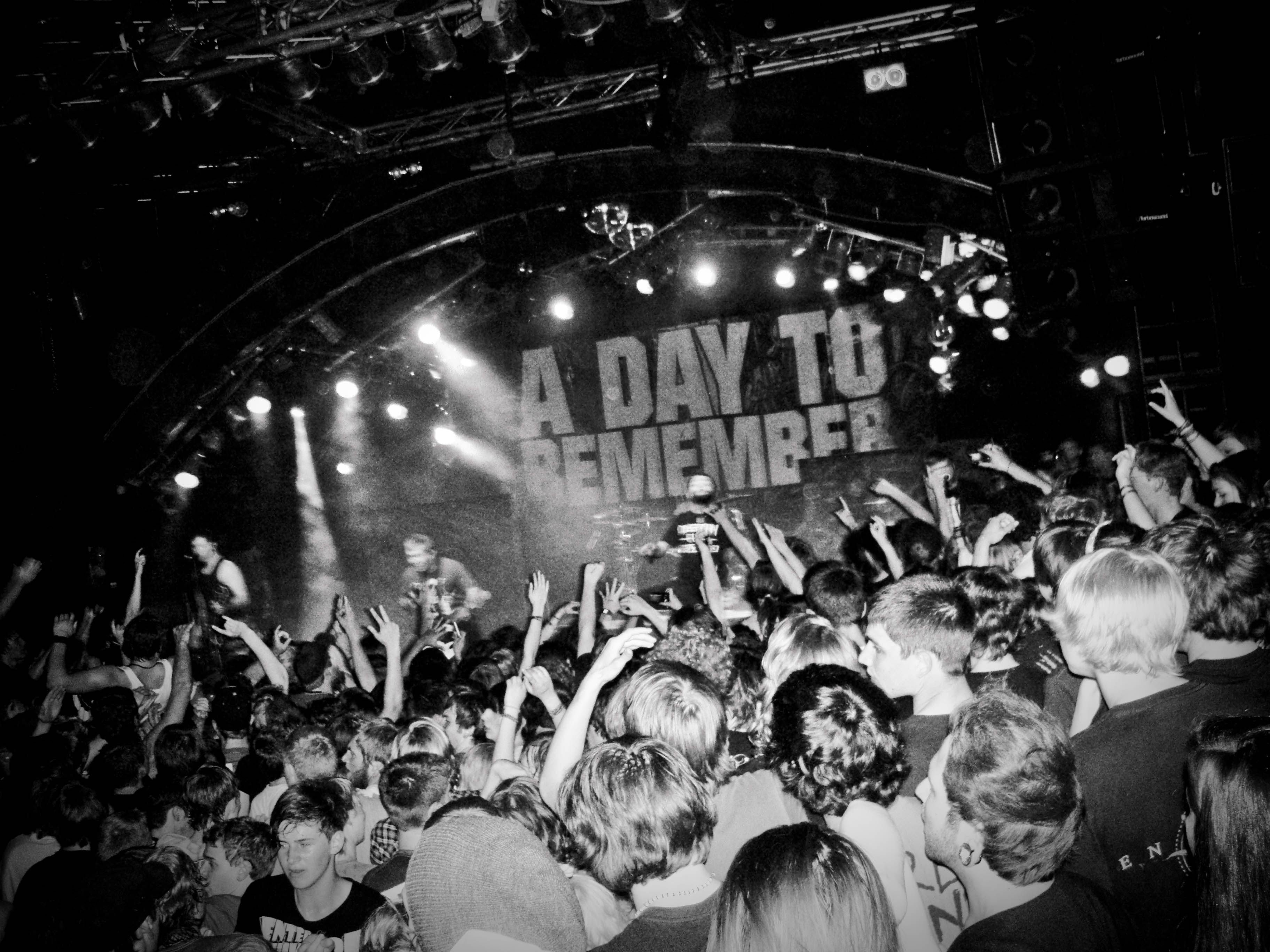 A Day To Remember A Day To Remember Bands Make Her Dance