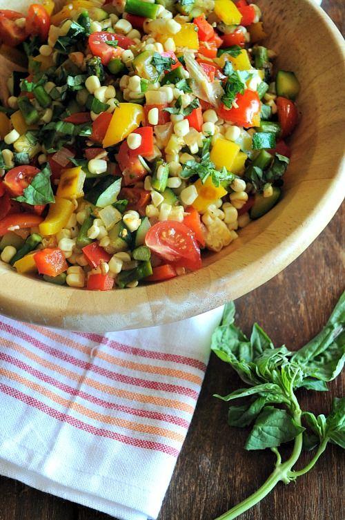 Summer Veggie Saute by @Kelley Epstein {Mountain Mama Cooks}