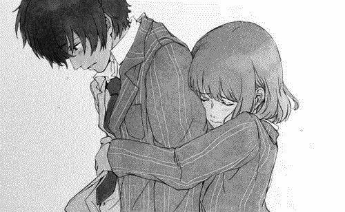 Hug From Behind Manga Anime Hug Manga Love Anime