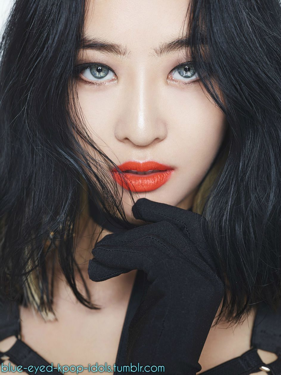 Best Blue Eyed Kpop Idols Picture For Black Hair Eyes Tumblr Ideas And Ethnicity Concept Sistar Shake It Sistar Sistar Kpop
