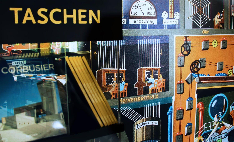 by AnneLiWest Berlin #TASCHEN Pop Up Store Berlin #FritzKahn