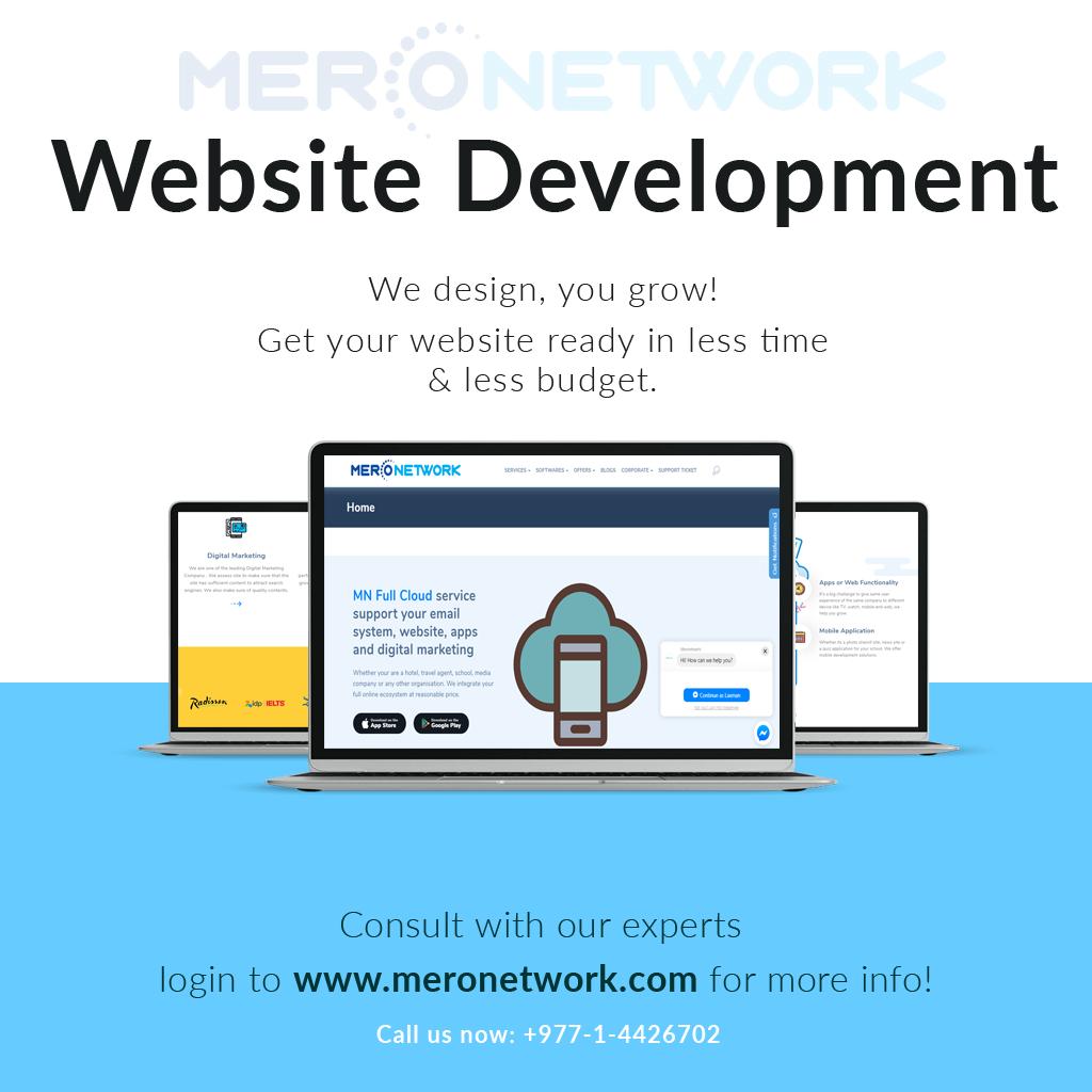 Web Development Service In Nepal Web Development Website Development Web Design