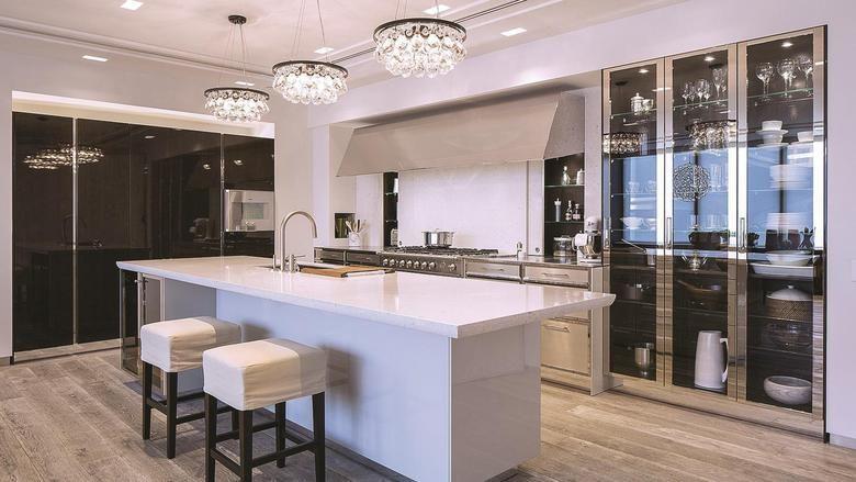 statussymbol küche: in diesen küchen regiert das design | id, Kuchen dekoo