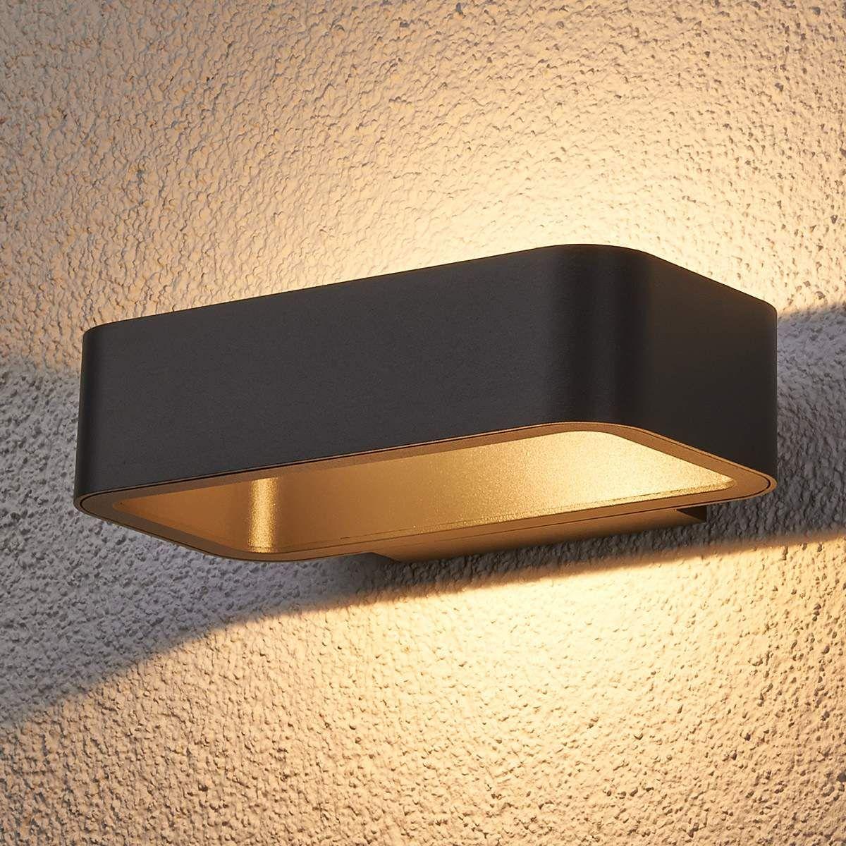 lampen aussen anthrazit mit bewegungsmelder