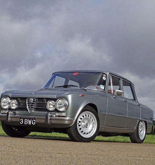 1969 Alfa Romeo Giulia Super