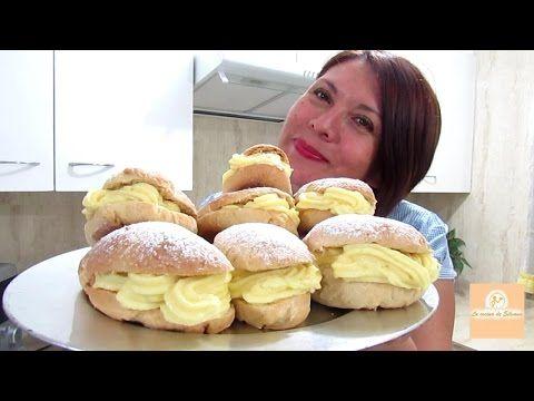 PAN DE LECHE - CONEJITOS CON CREMA PASTELERA - Silvana Cocina y Manualidades - YouTube