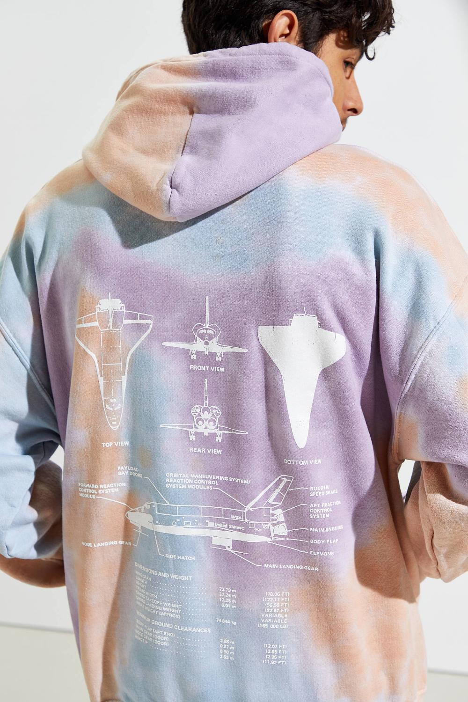 Nasa Tie Dye Hoodie Sweatshirt Urban Outfitters Tie Dye Hoodie Tie Dye Fashion Tie Dye Diy [ 1500 x 1000 Pixel ]