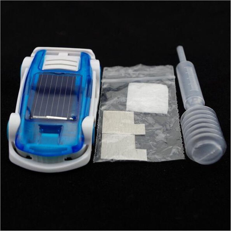 Wow!! Brine And Solar Dual Energy Power Car Brine Powered