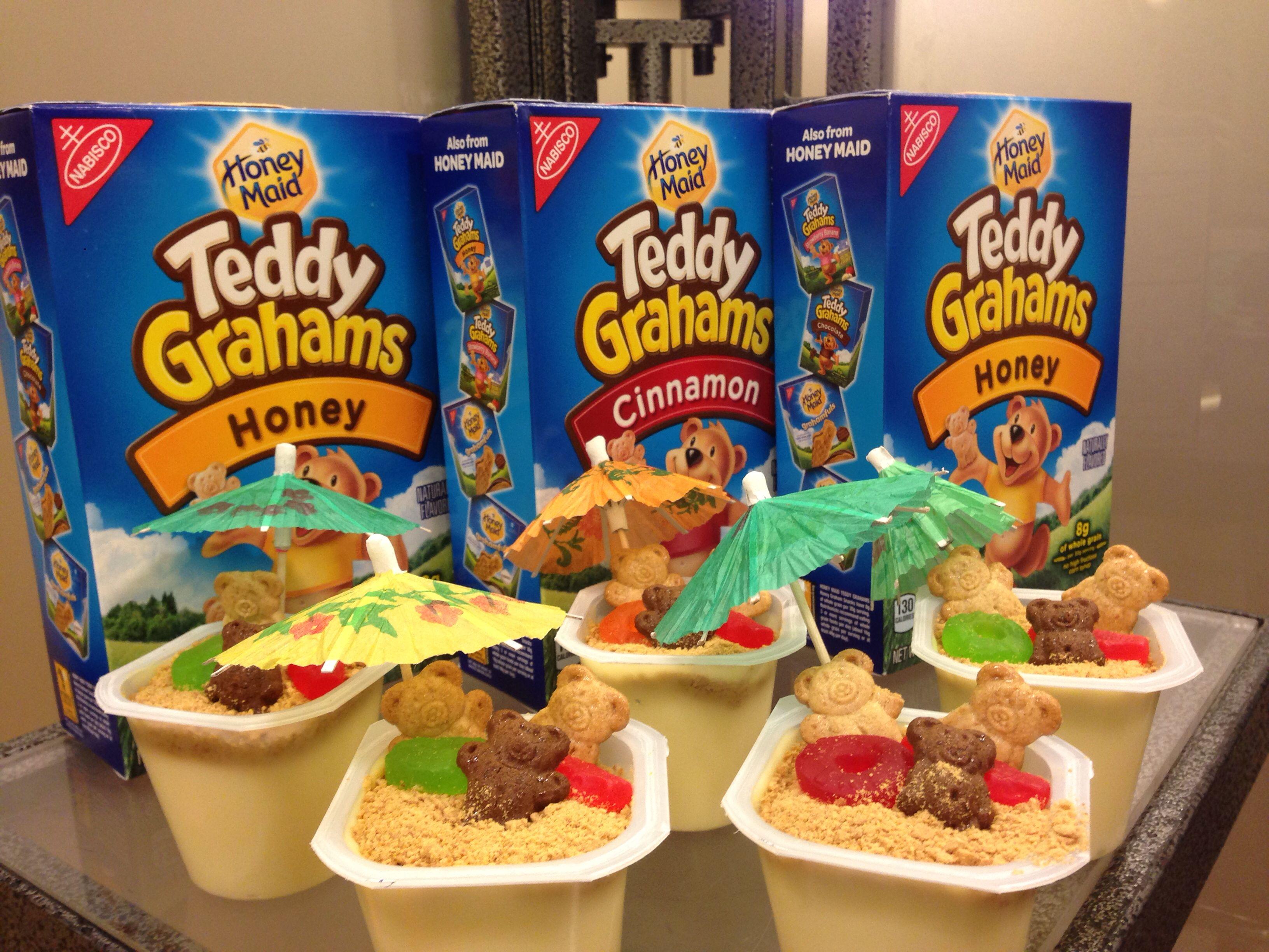 Classroom Snack Ideas Kindergarten : Beach cups for a summer birthday instead of dirt