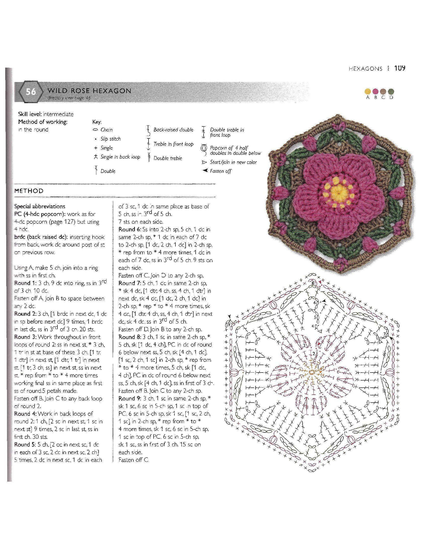 o_15c44e5172912422_110.jpg | freeform crochet | Pinterest | Patrón ...
