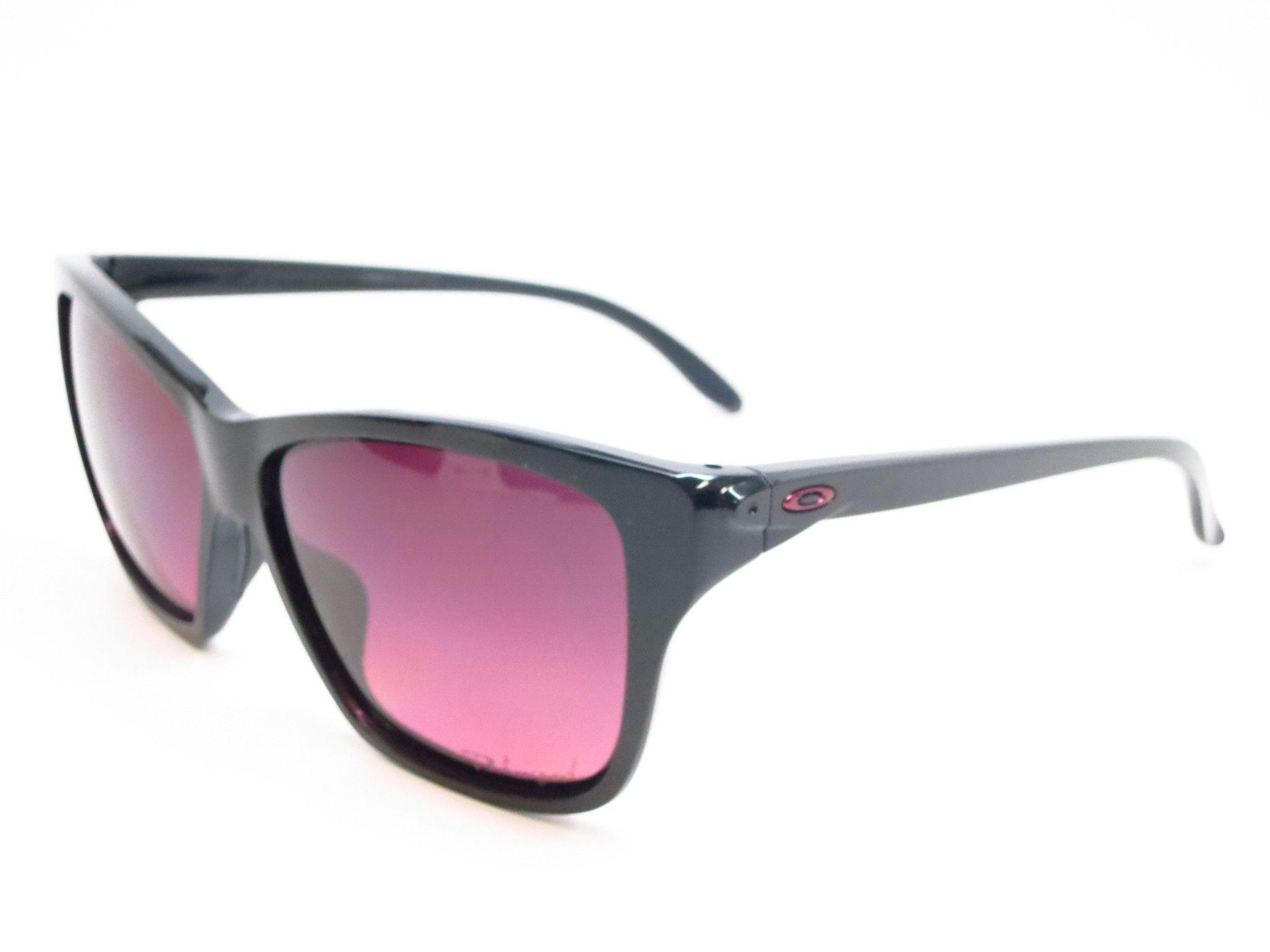 308ae6e2573 Oakley Hold On OO9298-02 Polished Black Polarized Sunglasses ...