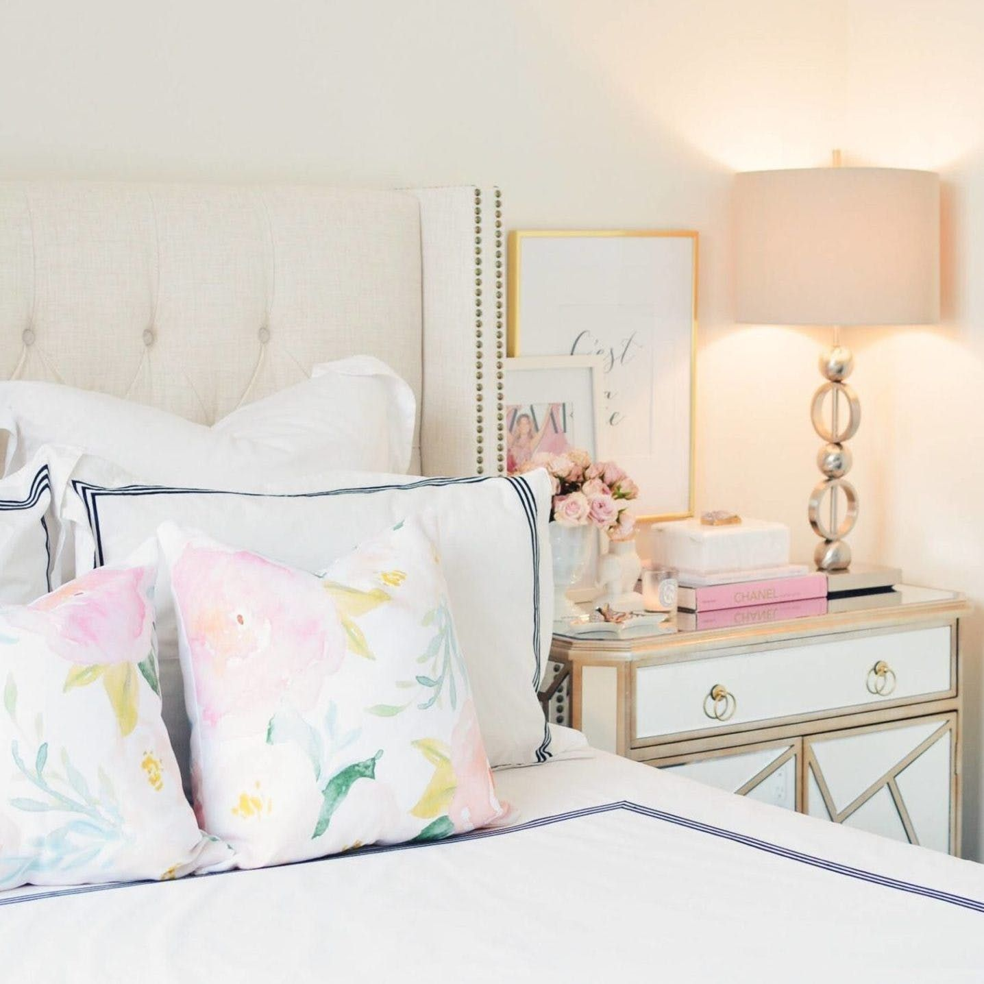 10 Kate Spade New York Inspired Bedrooms for the Preppy Girl in All