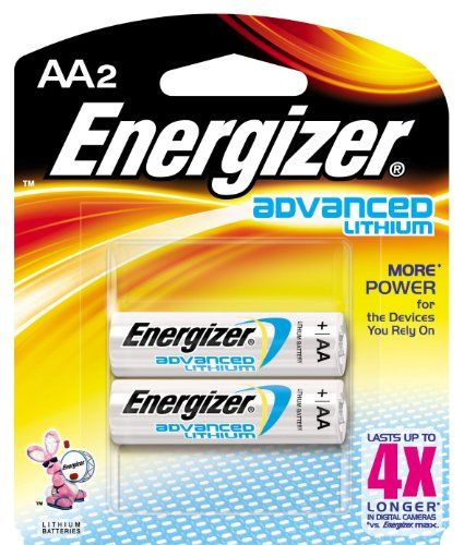Energizer Advanced Lithium Batteries Aa Size 2count Pack Of 12 For More Information Visit Image Link This Is An Affil Energizer Lithium Battery Batteries