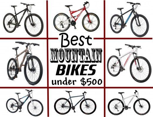 Best Mountain Bikes Under 500 Best Mountain Bikes Mountain