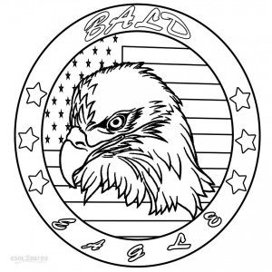 Bald Eagle Head Coloring Pages Bird Coloring Pages Coloring