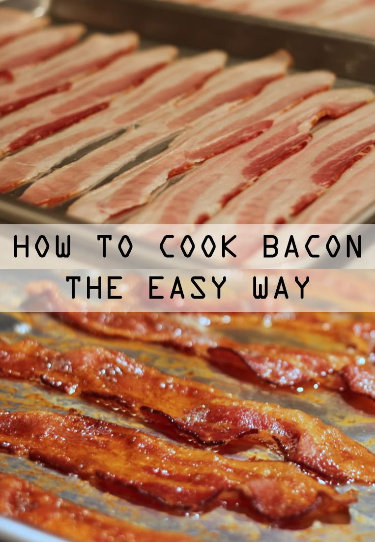 How to Make Bacon in the Oven It really is possible to cook bacon without a big, greasy mess. Once you discover how easy it is to cook no-mess bacon in the oven, you'll never go back to your frying pan...I promise!