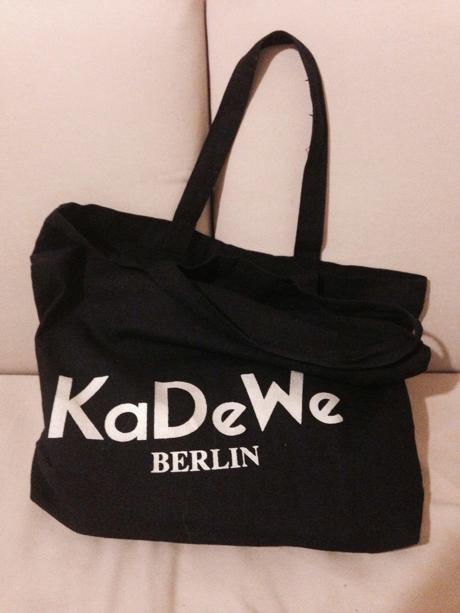 kadewe berlin cotton shopping bag bags pinterest. Black Bedroom Furniture Sets. Home Design Ideas