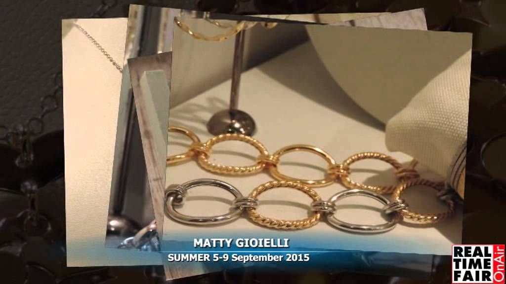 Matty Gioielli at Summer show 2015. Discover their collections at booth 121 at Palakiss Vicenza.