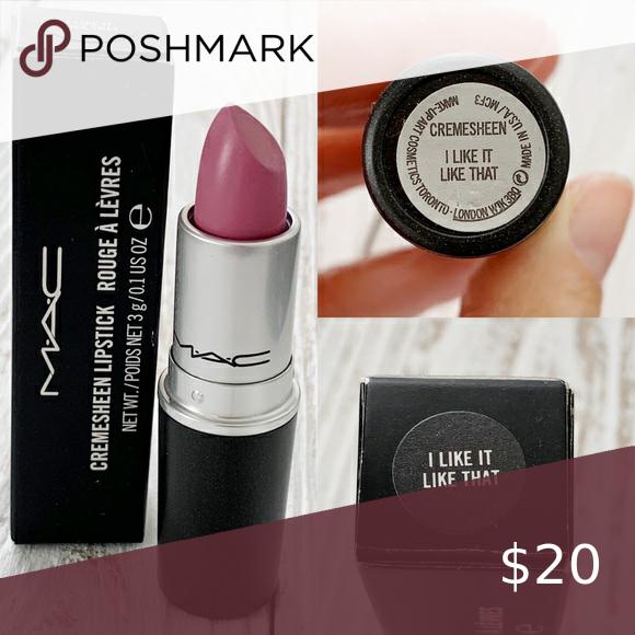 Photo of NIB Discontinued Rare MAC lipstick NIB Discontinued Rare MAC lipstick  Cool Tone…