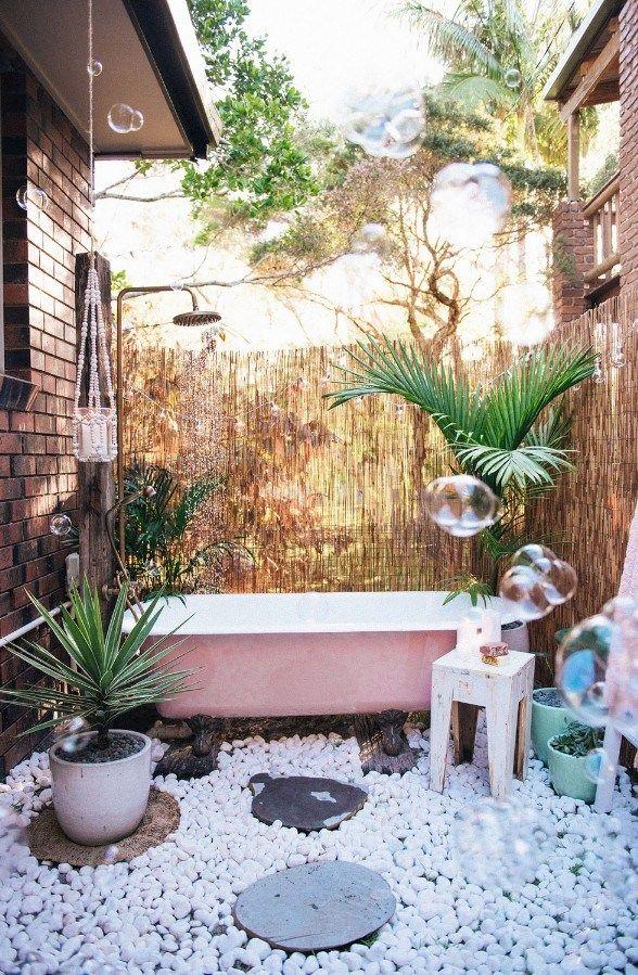 Bathtub Plants Outdoor Baths