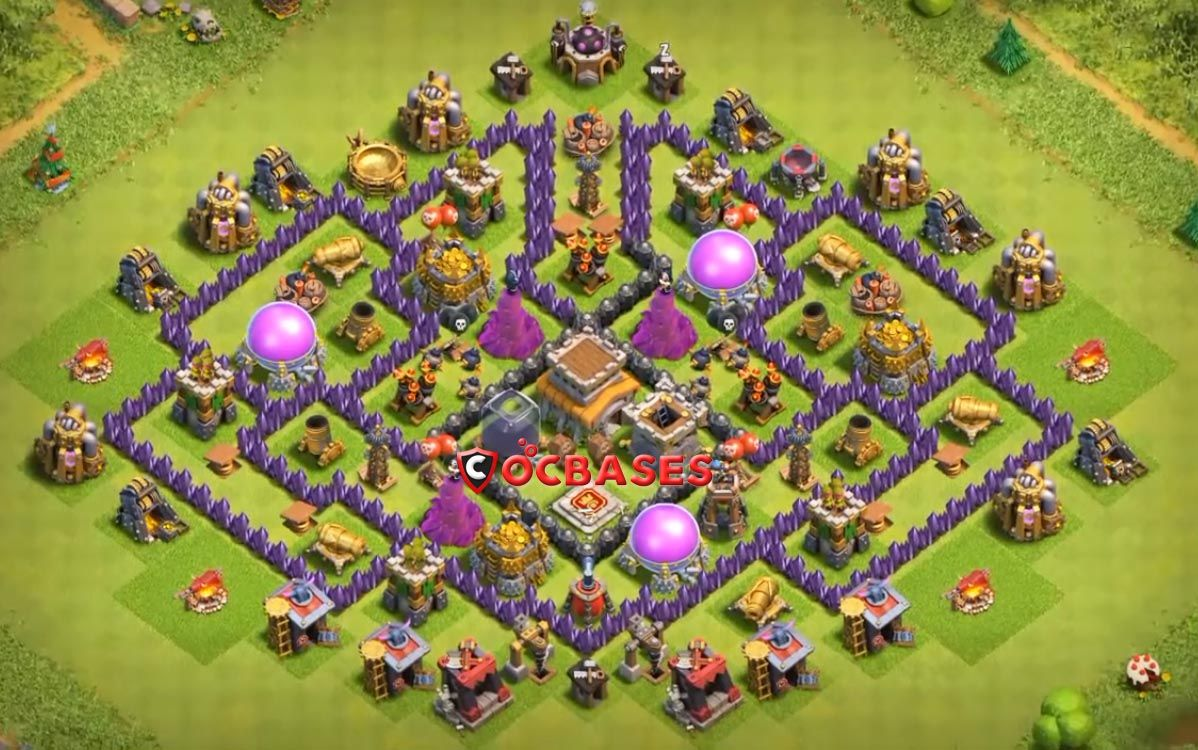 Coc Th 8 Best Base 10