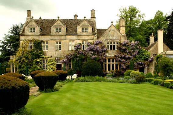 Barnsley House Cotswolds England English Manor Houses