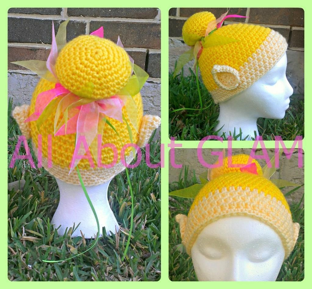 The Pixie Hat | Crocodile stitch, Tinkerbell and Pixies