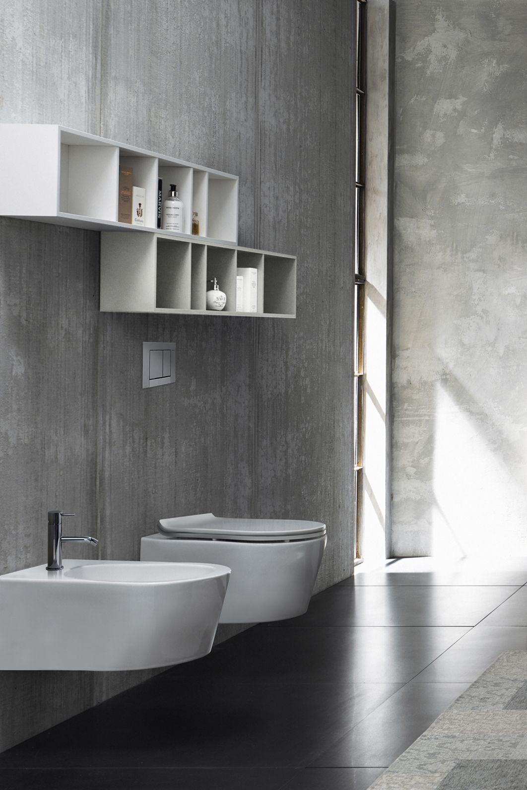 Decor N Tile Unique Rad New Rimless Wallmount Toilet Is Compact Stylish And Leaves Design Ideas