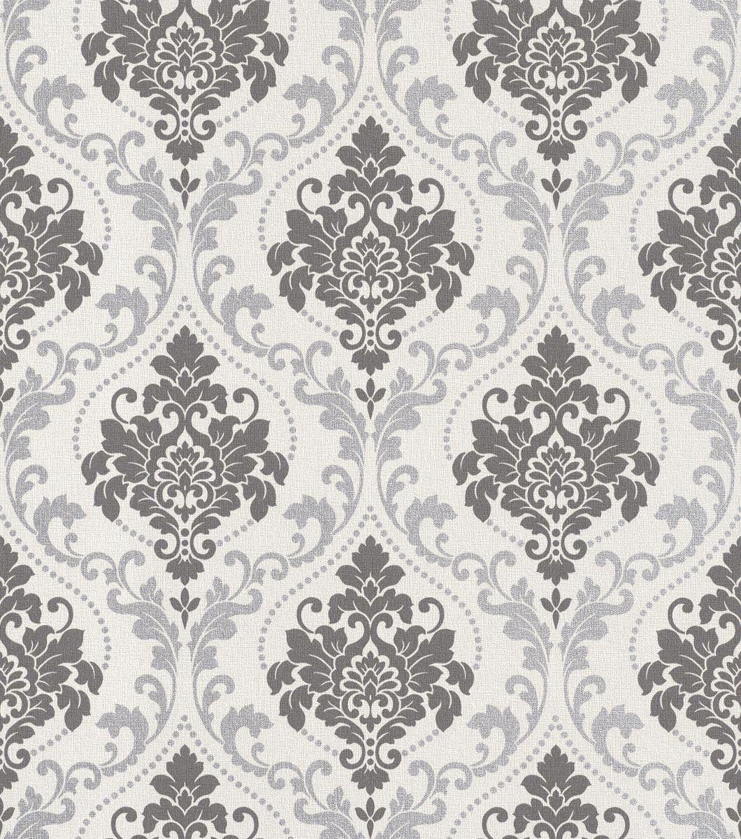 Rasch tapete gentle elegance 725698 grau creme braun for Suche tapeten muster