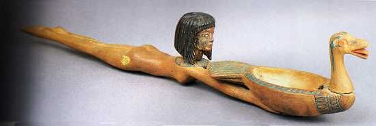 Ancient Egyptian Cosmetic Spoons