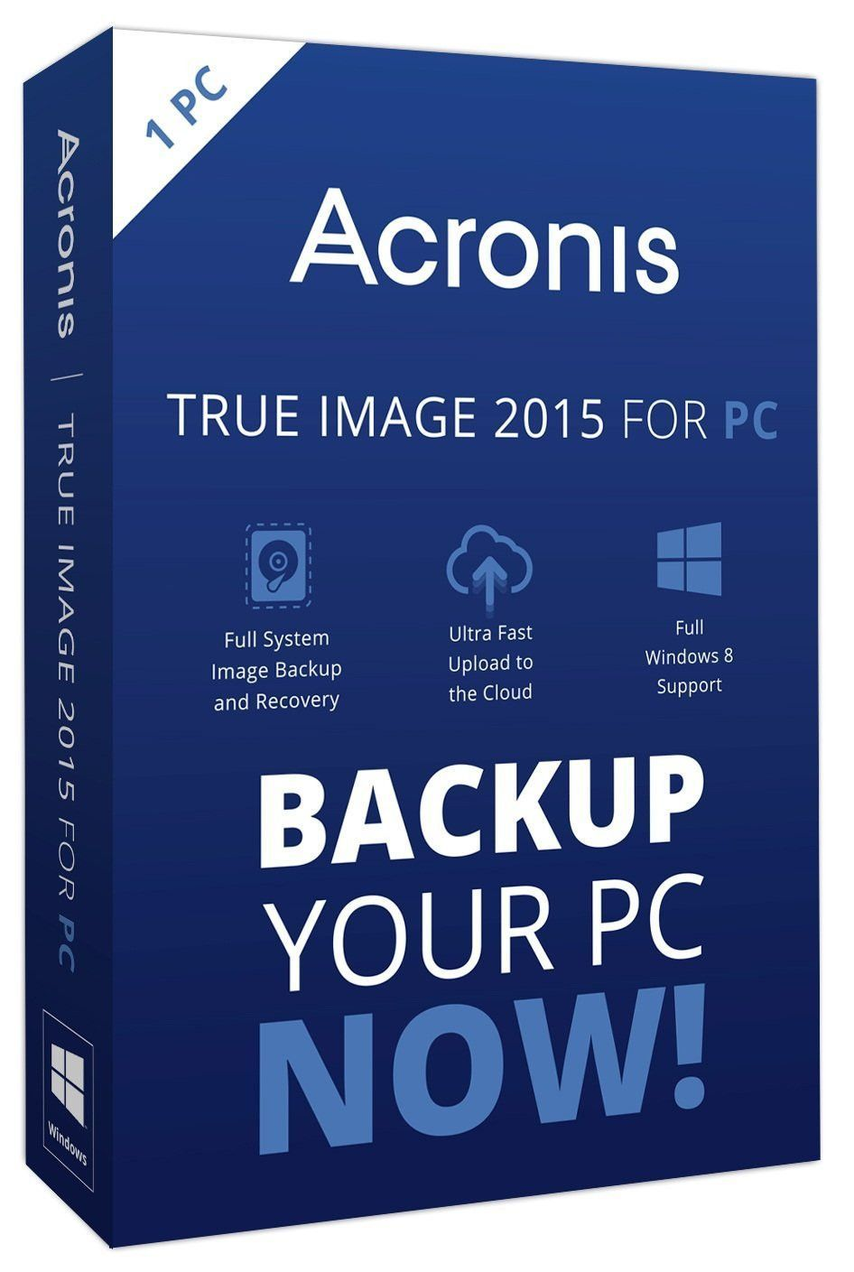 Using True Image on the Windows Partition of a Mac - Acronis
