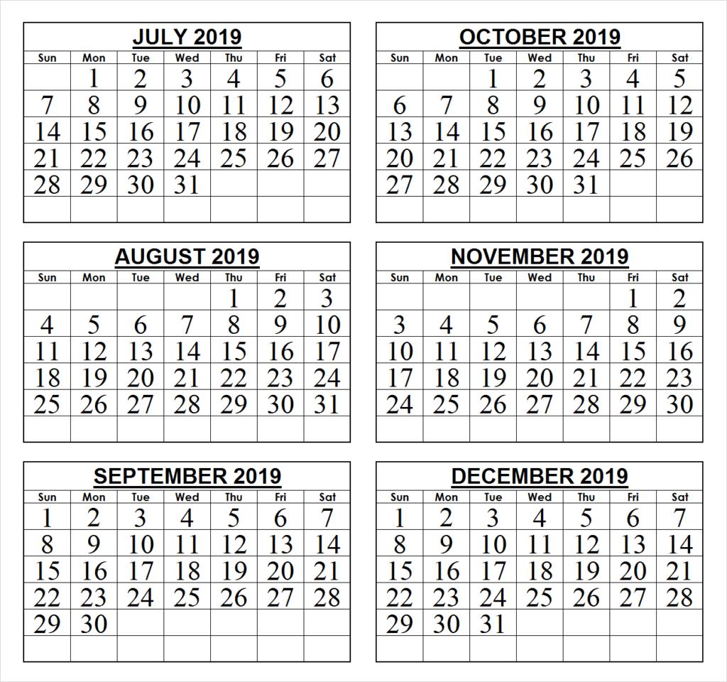 6 Month Calendar 2019 2019 last 6 months calendar | 2019 Calendars | Calendar wallpaper