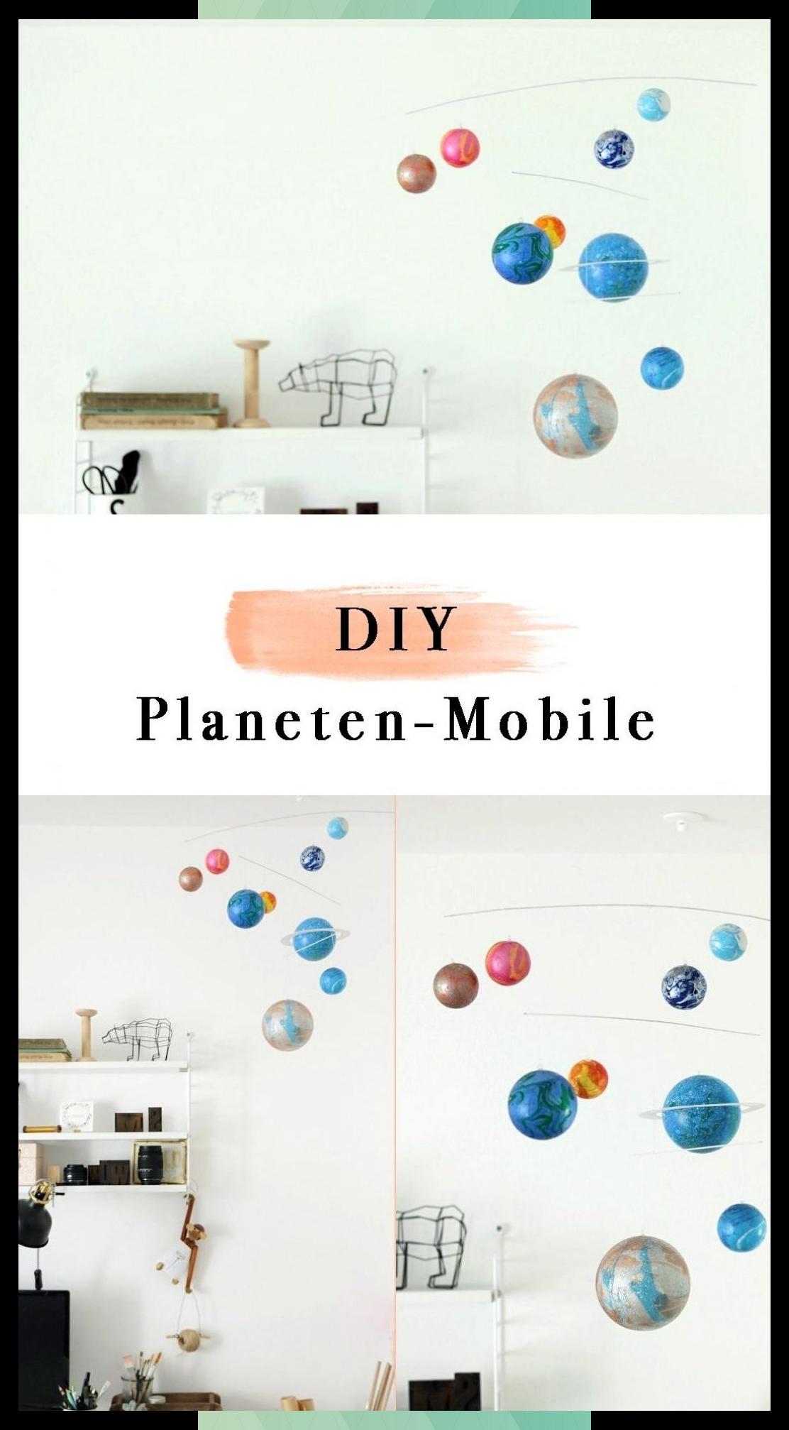 Diy Planet Mobile Make Diy Mobile From Styrofoam Balls