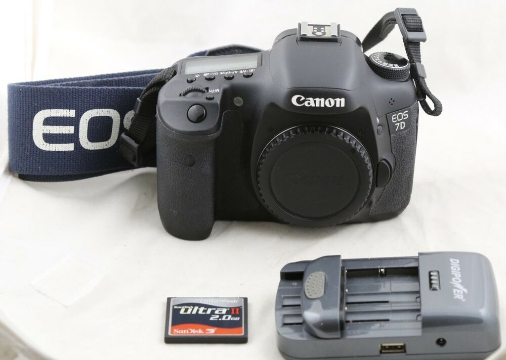 Shutter only 12K! Canon EOS 7D 18 0MP Digital SLR Camera