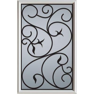 Stanley Doors 1 2 Lite Decorative Glass 5022s Home Depot Canada Glass Decor Stanley Doors Exterior Doors
