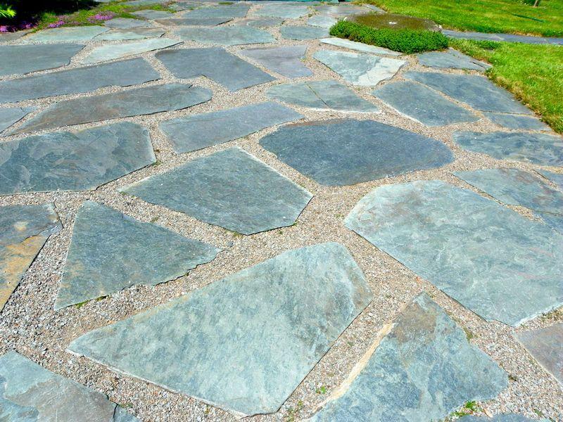 Pea Gravel And Flagstone Landscape Designs   Google Search