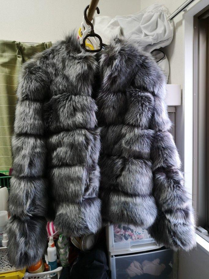 b3d7f2fca8 Online Shop ZADORIN 2019 New Winter Coat Women Faux Fox Fur Coat Plus Size  Women Stand