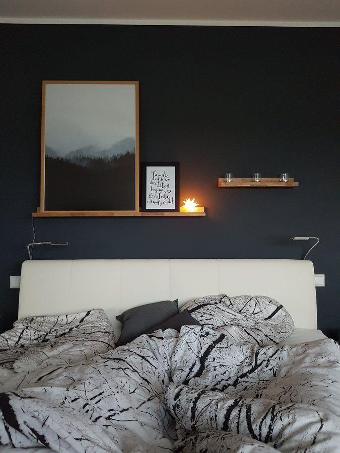 Im Nebelwald erwacht Trendfarbe Blau ♡ Wohnklamotte Pinterest