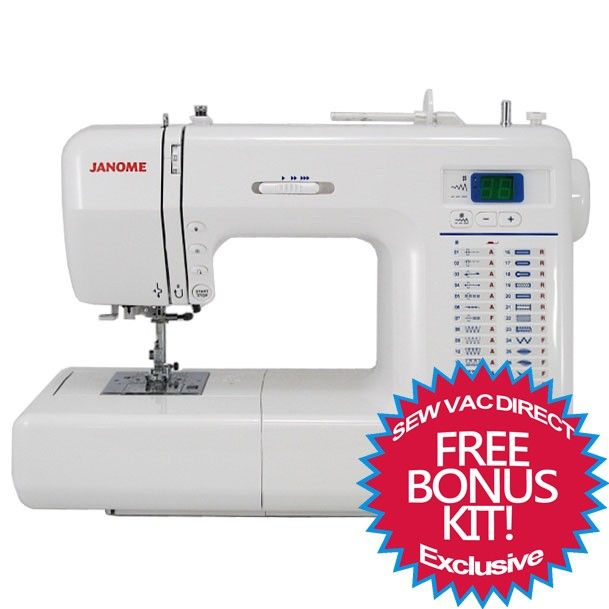 Janome 8077 Computerized Sewing Machine With Exclusive