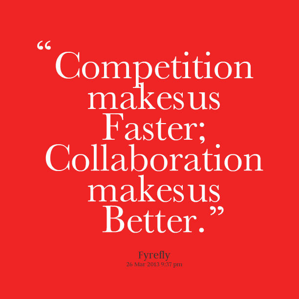 collaboration versus competition