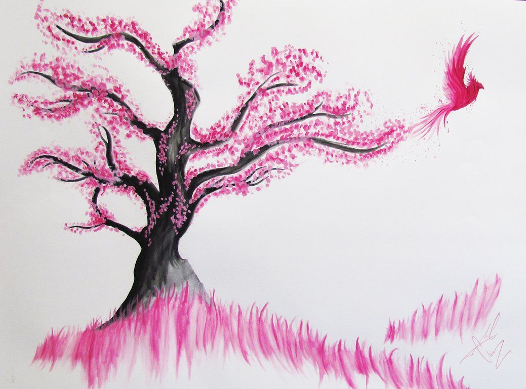 Cherry Blossom | birds_in_the_cherry_blossom_tree_by_moralchaos ...