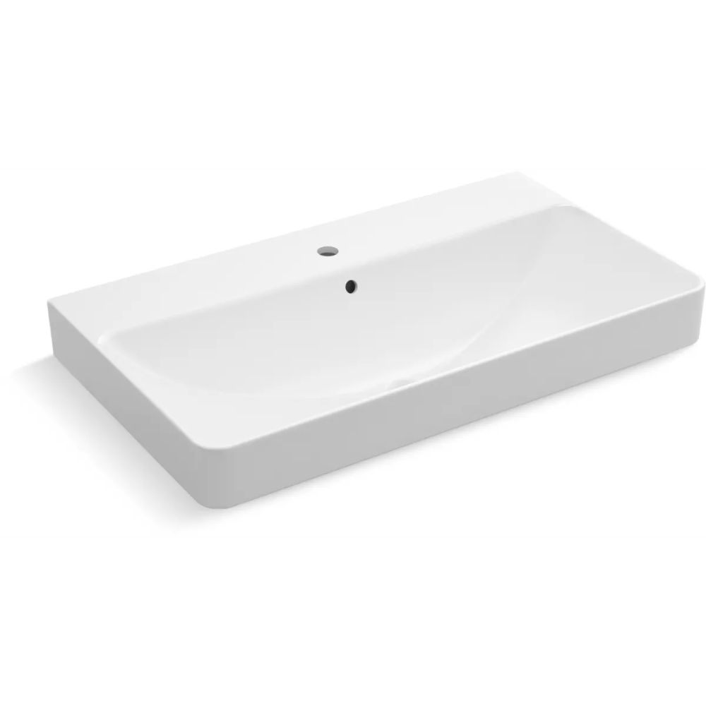 Kohler K 2749 1 Rectangular Sink Bathroom Bathroom Sink Bathroom Design Small