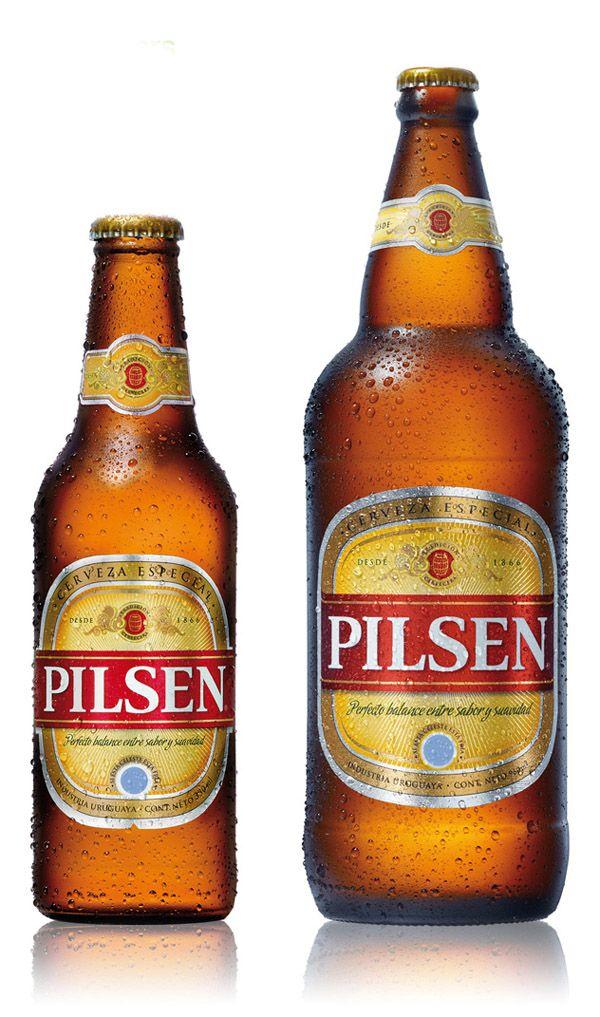 Pilsen Beer Packaging Pilsen Gold Peak Tea Bottle