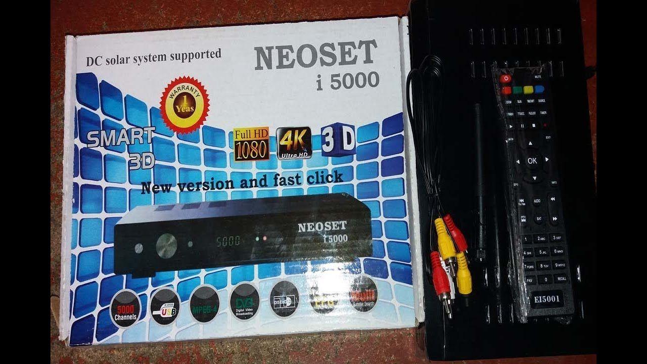 NEOSET i 5000 hd sim Receiver Digital Satellite Receiver