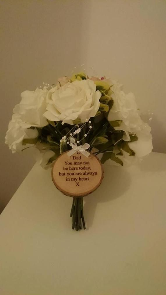 Personalised Wedding Bouquet Decoration, In Memory Of A Loved One (Dad / Grandad / Mum etc) On Your #mumsetc Personalised Wedding Bouquet Decoration, In Memory Of A Loved One (Dad / Grandad / Mum etc) On Your #mumsetc Personalised Wedding Bouquet Decoration, In Memory Of A Loved One (Dad / Grandad / Mum etc) On Your #mumsetc Personalised Wedding Bouquet Decoration, In Memory Of A Loved One (Dad / Grandad / Mum etc) On Your #mumsetc